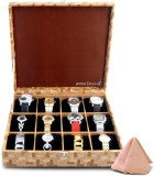 Anno Dominii Watch Box (Brown, Holds 12 ...