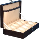 Fico Deco-2 Watch Box (Brown, Holds 10 W...
