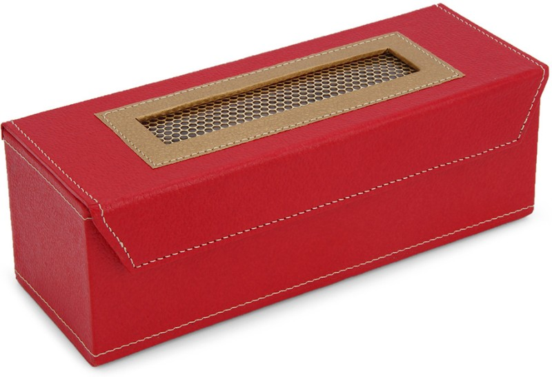 Ecopro Hudson Watch Box(Red, Holds 3 Watches)