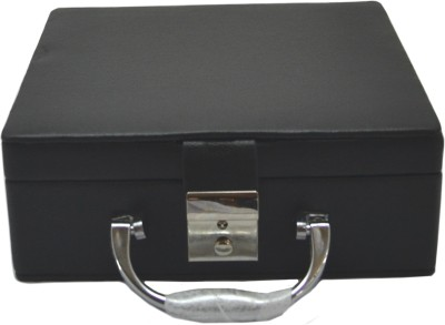 Like Leather Watch Box 6 compartments Watch Box