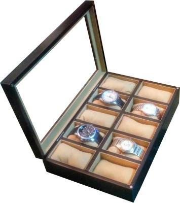 SLK Wooden (Charcoal Black) Watch Box
