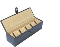 Ystore YWB15FBR Watch Box(Brown Holds 5 Watches)
