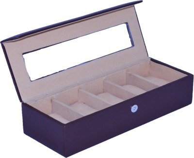 Krio Designs Premium Cushioned Organizer Case Watch Box