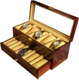 SLK Wooden Watch Box (Rosewood, Holds 10...
