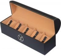 Ystore YWAB5BL Watch Box(Black Holds 5 Watches)