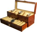 Slk Wooden Watch Box (Walnut, Holds 10 W...