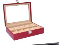 Essart Protection Watch Box(Maroon Holds 10 Watches)