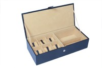 Ystore YWSG232BL Watch Box(Black Holds 6 Watches)