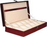 Fico Watch Box (Maroon, Holds 12 Watches...