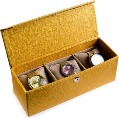 Ecoleatherette Deco Watch Box