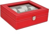 Kosher KWH015N-RED Watch Box (Red, Holds...