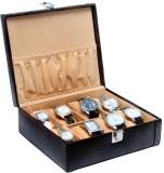 Borse WC005 Watch Box (Brown, Holds 8 Wa...