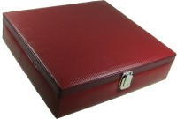 Essart Protection Case Watch Box(Red Holds 15 Watches)