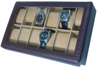 Shopkhalifa Protection Cases for watches 12 Slots Watch Box