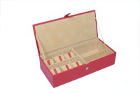 Ystore YWSG232RD Watch Box(Red Holds 6 Watches)