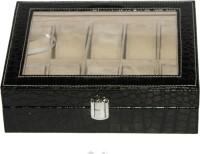 Decorika Fab-BBL Watch Box(Black Holds 10 Watches)