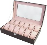BlushBees 12 Slots Leather Watch Box (Da...