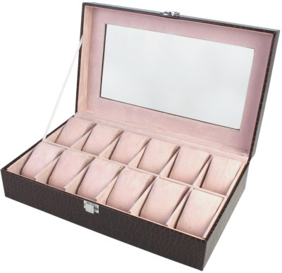 BlushBees 12 Slots Leather Watch Box