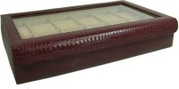 Essart Protection Cases for watches Watch Box(Cherry Holds 12 Watches)