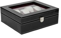 Kosher KWH015N-P.BLACK Watch Box(Black Holds 10 Watches)