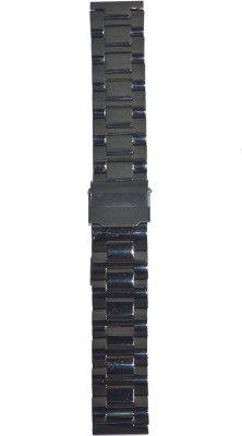 Like Ion Plated Black FS20 20 mm Stainless Steel Watch Strap