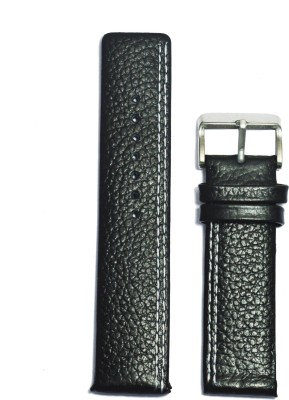 Like Parallel Dotted 20B 20 mm Leather Watch Strap
