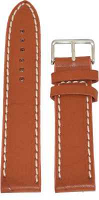 Like Plain 26 mm Leather Watch Strap