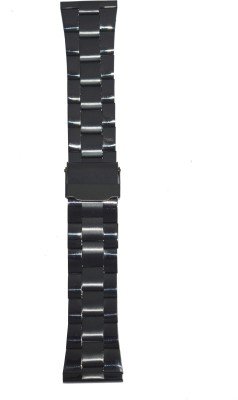 Like Ion Plated Black 322 22 mm Stainless Steel Watch Strap