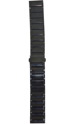 Like Ion Plated Black P20 20 mm Stainless Steel Watch Strap