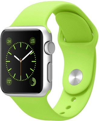 Inventure Retail silicon I watch Strap 42 mm Silicon Watch Strap(Green)