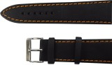 Hills n Miles Black Leather Straps 24 mm...