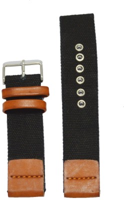 Like Denim 22T 22 mm Leather Watch Strap