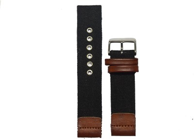Like Denim 22BR 22 mm Denim Watch Strap