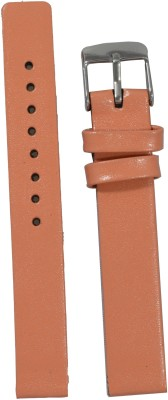 Like Glossy Finish PE 14 mm Leather Watch Strap