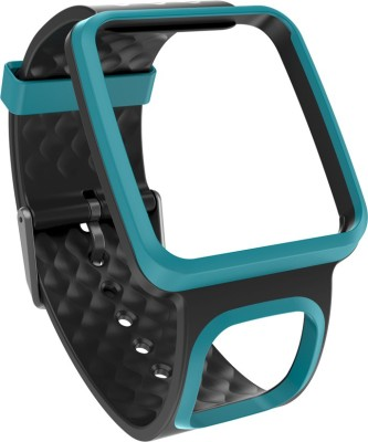 TomTom Comfort Band - Slim Turquoise 35 mm Elastomer Watch Strap