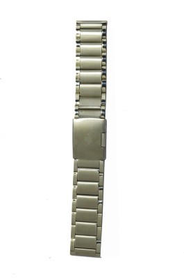 Like Two Tone Solid 24 mm Stainless Steel Watch Strap