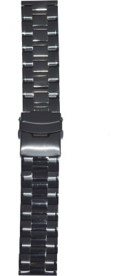 Like Ion Plated Black 524 24 mm Stainless Steel Watch Strap
