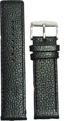 Like Parallel Dotted 22B 22 mm Leather Watch Strap