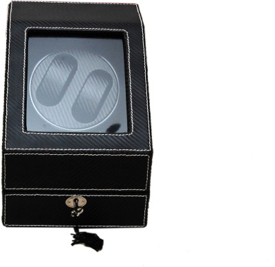 Medetai Autowind 2+3 Automatic 2 Watch Winder(BLACK, CARBON)
