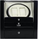 Time Tutelary Glossy Black Dual Watch Wi...