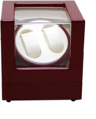 Medetai Mover Automatic 2 Watch Winder(Maroon, Beige)