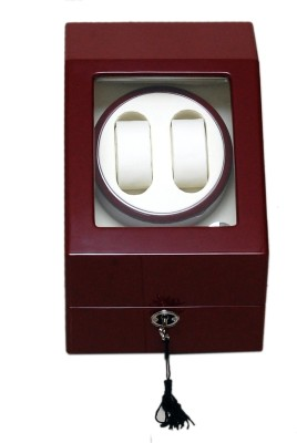 Medetai Autowind 2+3 Automatic 2 Watch Winder(MAROON, BEIGE)