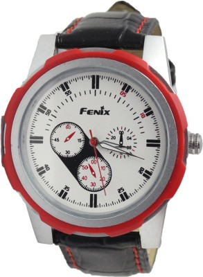 Style Feathers FenixRed Analog Watch  - For Boys