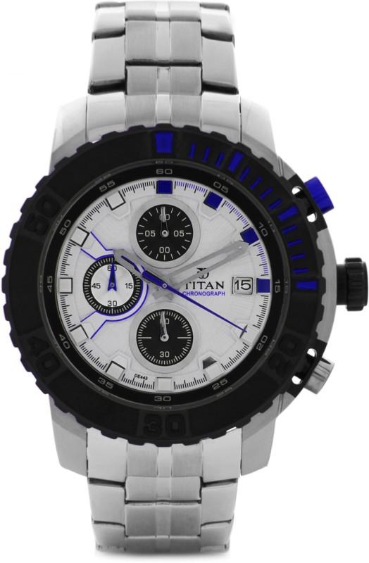Titan 90029KM02 Analog Watch For Men