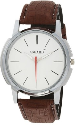 Asgard Solo Brown Analog Watch  - For Men
