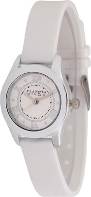 Planeta Times PLT-038-L-WHT Analog Watch  - For Women