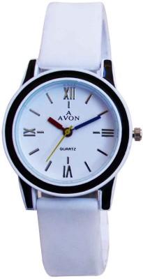 A Avon PK_65 White Analog Watch  - For Women