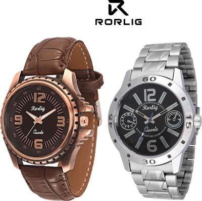 Rorlig RR_5075 Combo Analog Watch  - For Men, Boys