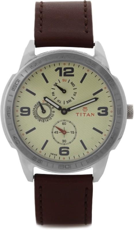 Titan 1585SL05 Purple Analog Watch For Men
