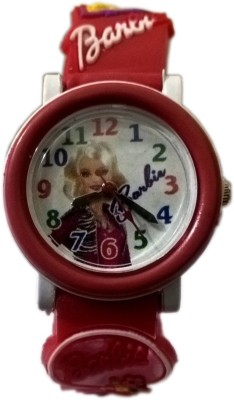 Rana Watches Barbie Red PD Analog Watch  - For Girls